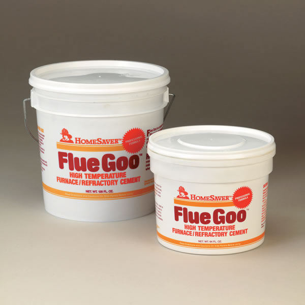 Homesaver Flue Goo Furnace Refractory Cement