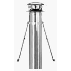 Metalbestos Chimney Pipe 6 Inch