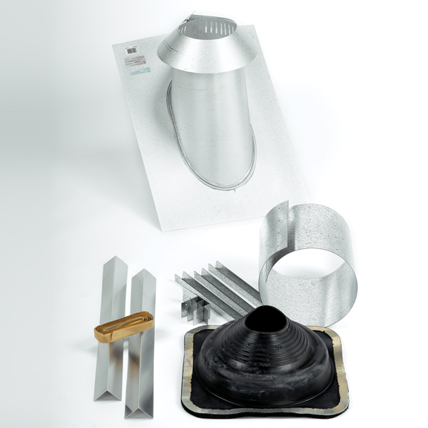 Metal Roof Universal Rubber Boot Flashing Kit