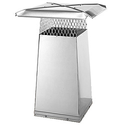 Gelco Flue Stretcher 8in x 13in x 22in tall - Stainless Steel