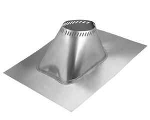 "Metalbestos - 8""  Roof Flashing, Adjustable 2/12 - 6/12"