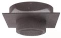 "Metalbestos - 8""  Finish Support (Square plate)"