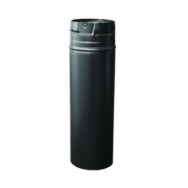 "Pellet Vent Pro 3"" - 24"" Length (Black Outer)"