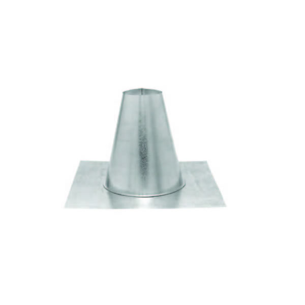 "Pellet Vent Pro 3"" - Flashing (Tall Cone / Flat Roof)"