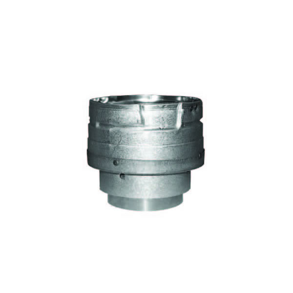 "Pellet Vent Pro 3"" - Appliance Adaptor : Increaser 3"" to 4"" (Galvalume)"