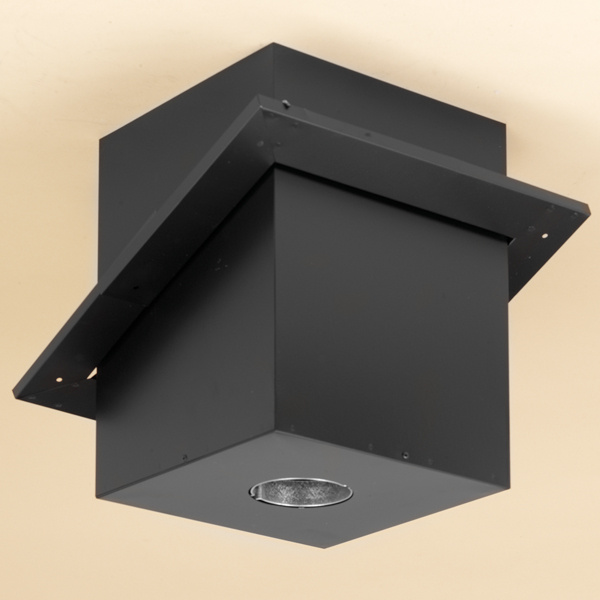 "Pellet Vent Pro 3"" - Cathedral ceiling Support Box"