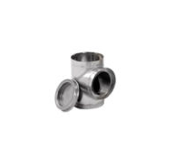 "SuperPro / SuperVent 6"" - Tee (insulated with plug)"