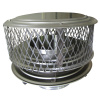 "Guardian 9"" Cap (For Air Insulated Factory Built and Pre-Fab Chimneys) - 304 alloy"