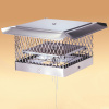 Lock-Top II Chimney Cap /  Damper - 8in x 17in
