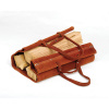 Woodfield Leather Log Carrier